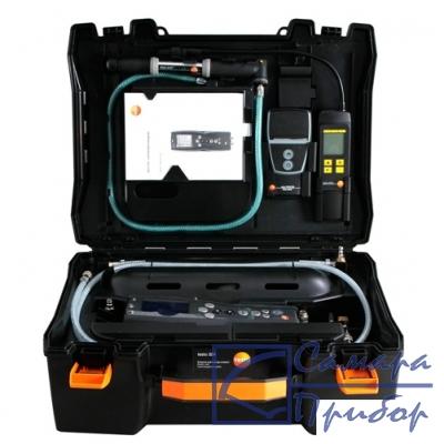 системный кейс для testo 324 в комплекте с насосом, соединительным блоком и соединительными шлангами 0516 3240
