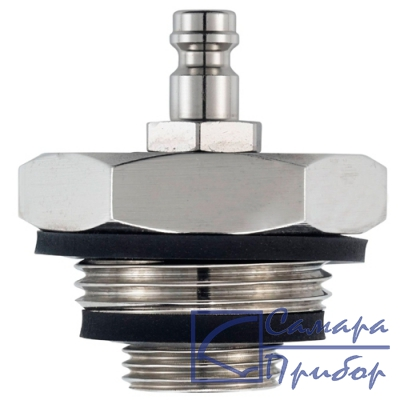 ступенчатый запорный фитинг высокого давления 1/2 и 1 для testo 312-2 0554 3164