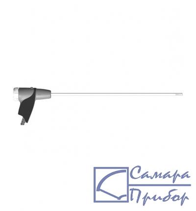 модульный зонд отбора пробы, длина 335 мм, с фиксирующим конусом, термопарой NiCr-Ni (TI) Tмакс 500°C и шлангом 2.2 м 0600 9766