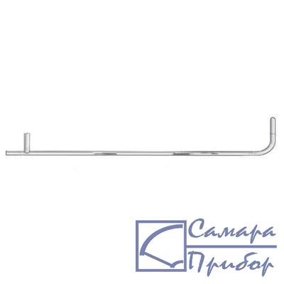 трубка Пито, длинна 300 мм, диаметр 4мм, нерж. сталь, для измерения скорости потока 0635 2245