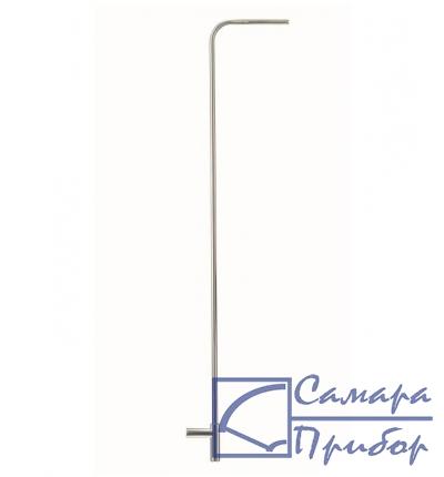 трубка Пито, длина 1000 мм, диаметр 7 мм, нерж. сталь, для измерения скорости потока 0635 2345