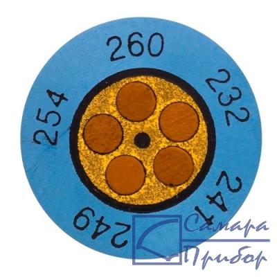 круглые термоиндикаторы 143°C/166°C 0646 0075