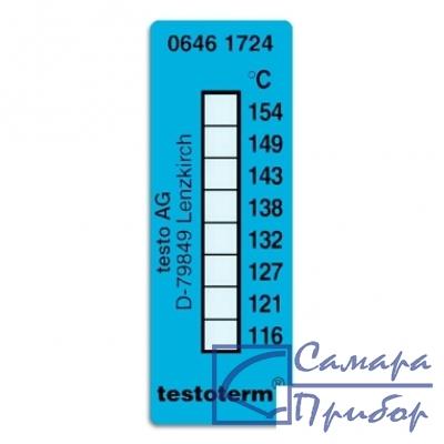 самоклеющиеся термоиндикаторы 116-154°C 0646 1724