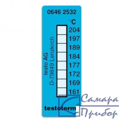 самоклеющиеся термоиндикаторы 161-204°C 0646 2532