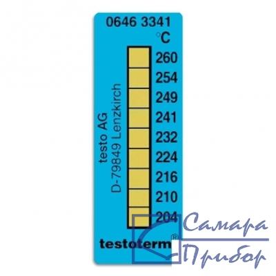 самоклеющиеся термоиндикаторы 204-260°C 0646 3341