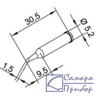усеченный цилиндр 1,5 мм (к i-Tool, i-Tool nano) 102ADLF15