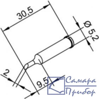 усеченный цилиндр 2 мм (к i-Tool, i-Tool nano) 102ADLF20