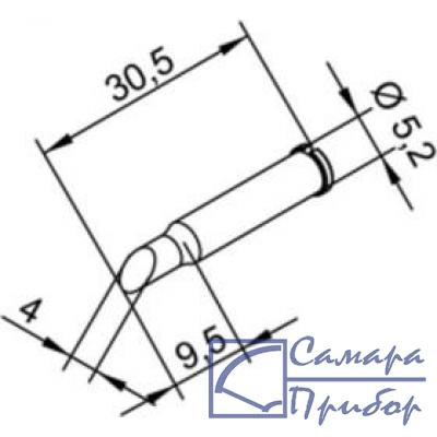 усеченный цилиндр 4 мм (к i-Tool, i-Tool nano) 102ADLF40