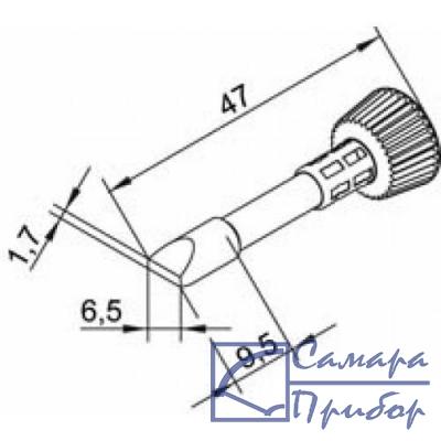 клин 6,5 мм (к i-Tool) 102CDLF65
