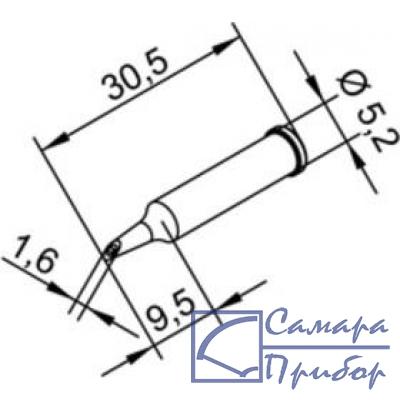 микроволна 1,6 мм (к i-Tool, i-Tool nano) 102WDLF16
