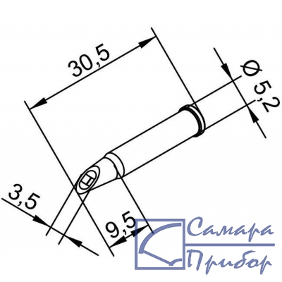 микроволна 3,5 мм (к i-Tool, i-Tool nano) 102WDLF35