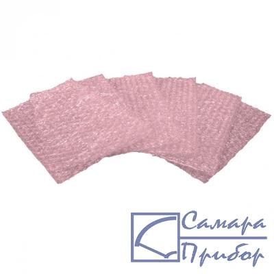 антистатическая рассеивающая розовая упаковка с воздушными демпфирующими прослойками 20-021-6000