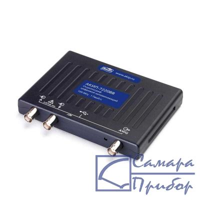 USB-осциллограф запоминающий АКИП-72408B