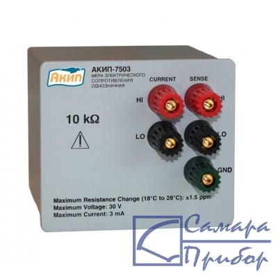 мера сопротивления однозначная АКИП-7503-1,9МОм