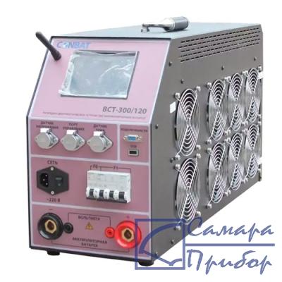 комплект интеллектуального разрядно-диагностического устройства аккумуляторных батарей 8-15В/60А, 15-140В/120А, 140-280В/60А (30 датчиков в отдельном кейсе, токовые клещи 200А) BCT-300/120 kit