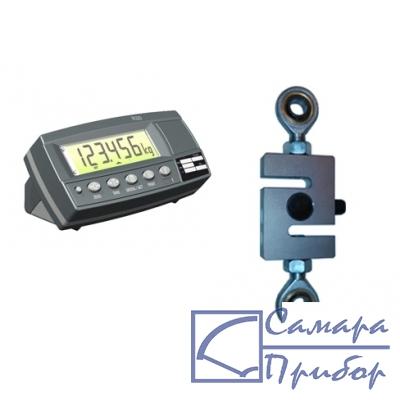 динамометр растяжения электронный переносной (2 кл., тип датчика №1, 50 кН на растяжение) ДЭП/3-1Д-50Р-2