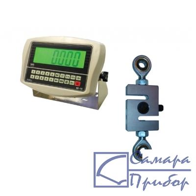 динамометр растяжения электронный переносной (1 кл., тип датчика №1, 0,3 кН на растяжение) ДЭП/6-1Д-0,3Р-1