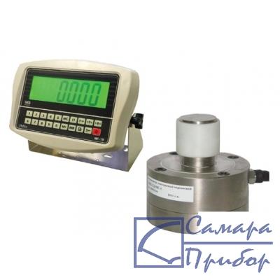 динамометр сжатия электронный переносной (2 кл., тип датчика №2, 10 кН на сжатие) ДЭП/6-2Д-10С-2