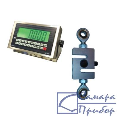 динамометр сжатия электронный переносной (1 кл., тип датчика №1, 0,3 кН на сжатие) ДЭП/7-1Д-0,3С-1