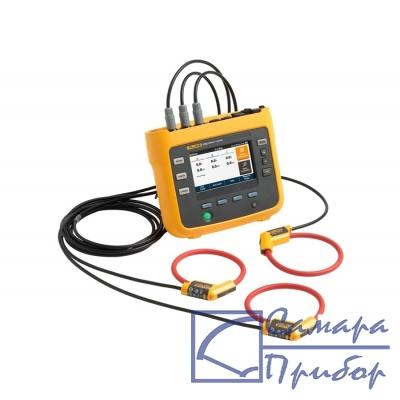 трехфазный анализатор качества электроэнергии (модель для ЕС и США с датчиками тока в комплекте) Fluke-1734/EUS