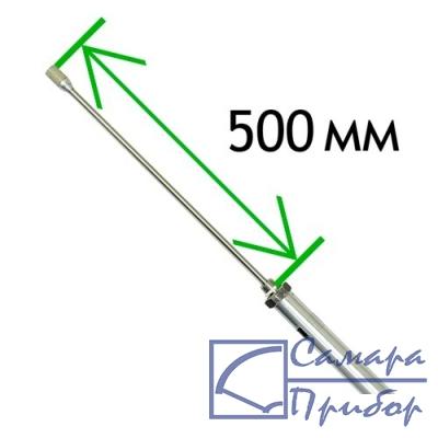 портативный измеритель относительной влажности и температуры, 500 мм ИВТМ-7 Н-06-3В-М20-500