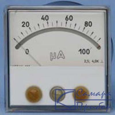 Микроамперметры, миллиамперметры, амперметры, милливольтметры, вольтметры постоянного тока