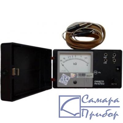 Измерительный прибор - омметр М41070/1 - предназначен для измерения электрического