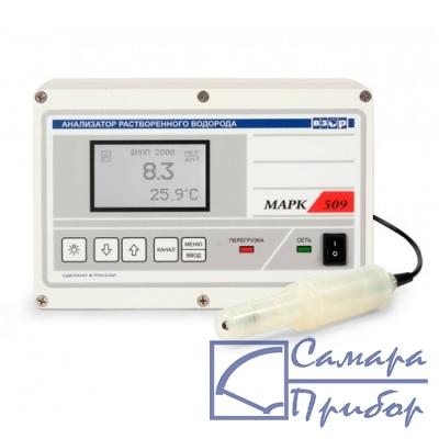анализатор растворенного водорода (настенное исполнение) МАРК-509/1 (с модулем стабилизации водного потока МС-402М)