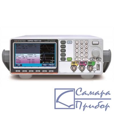 3-канальный генератор сигналов специальной и произвольной формы MFG-72160MR