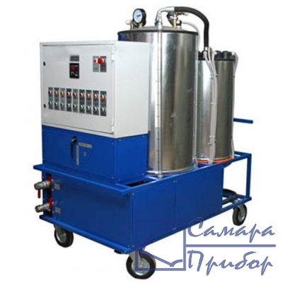 мобильная установка для очистки турбинного масла OTM-500