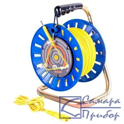 для MRU-XXX, MPI-52X/53X Провод измерительный 75м на катушке с разъёмами банан желтый