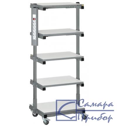подкатная стойка для оборудования, антистатическое исполнение СТ-05 ESD