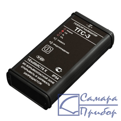 портативный двухкомпонентный газосигнализатор метана и кислорода ТГС-3 (CH4, O2)