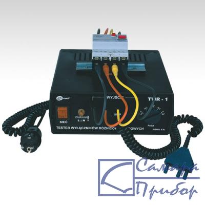 адаптер для тестирования устройств защитного отключения (УЗО) (опции к измерителям параметров УЗО) TWR-1